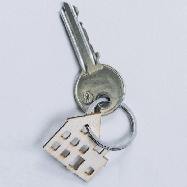 ключ с брелоком