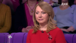 Адвокат Ольга Нянькина на передаче ДНК