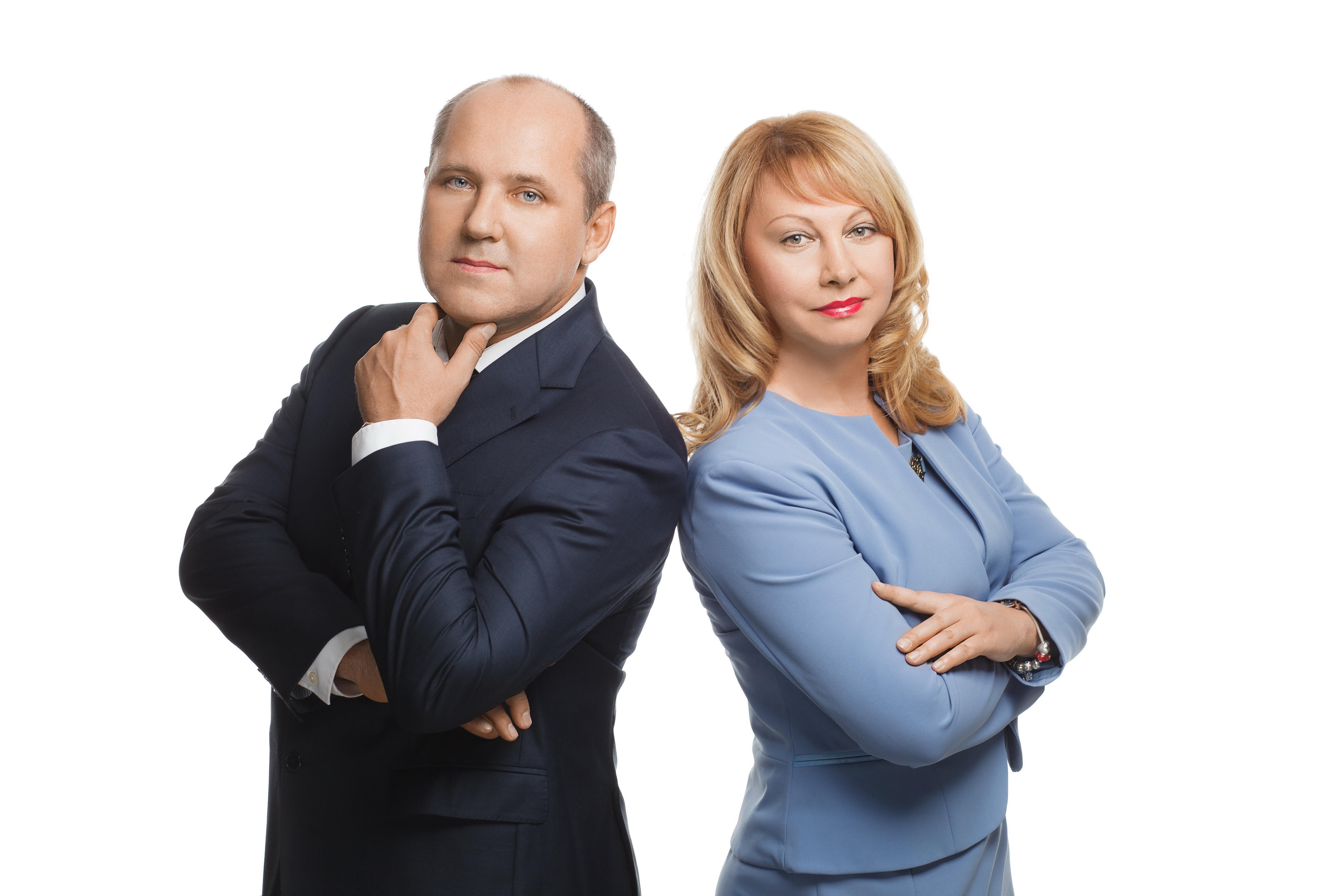 адвокаты Алексей Нянькин и Ольга Нянькина