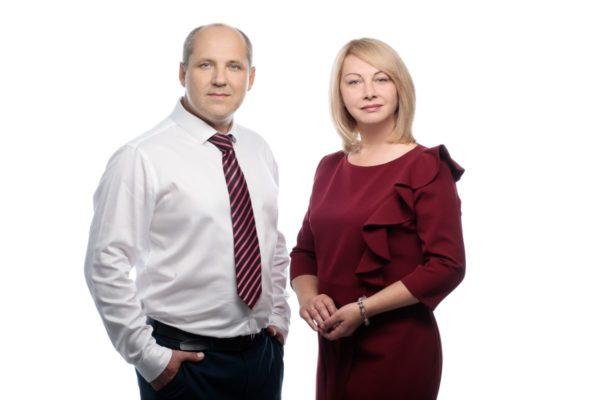 Адвокаты Алексей и Ольга Нянькины