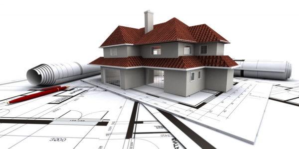 чертежи и макет строения