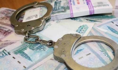 денежные купюры и наручники