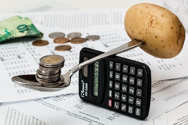 калькулятор монеты ложка картошка