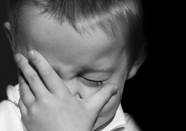 плачь маленького ребёнка