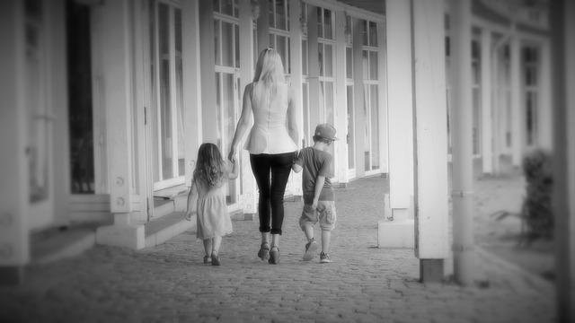 отец забрал детей у матери